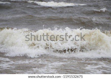 storm on the Gulf of Finland #1191532675