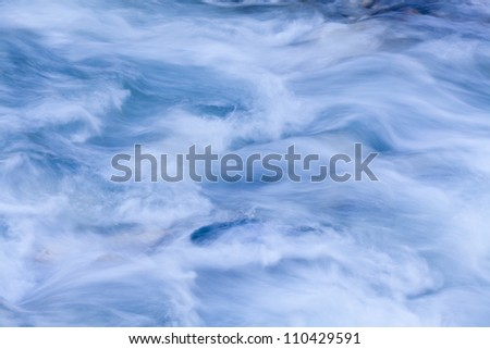 Storm river water background