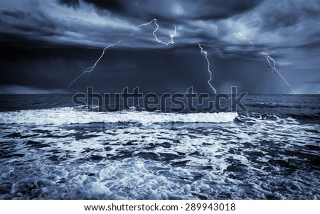 Stormy sea, abstract natural backgrounds for your design