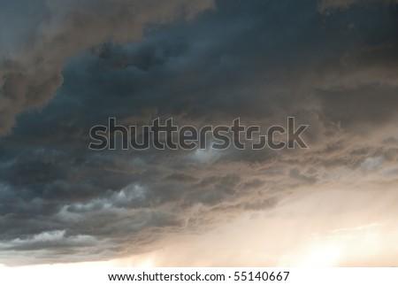 stormy weather - stock photo