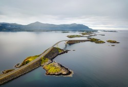 Storseisundet Bridge, Atlantic Ocean Road Norway