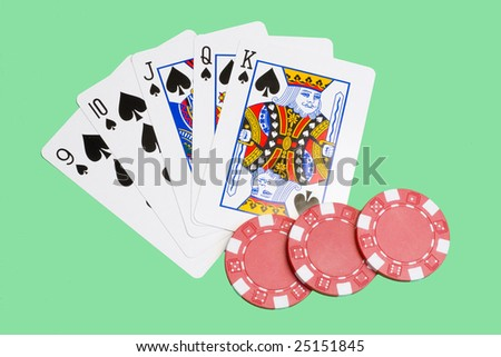straight flush - five consecutive cards of the same suit