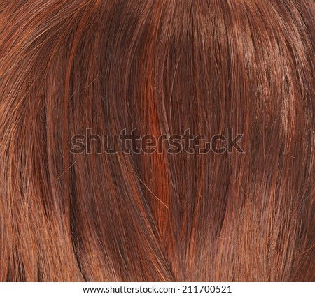 Straight hair fragment as a texture background composition