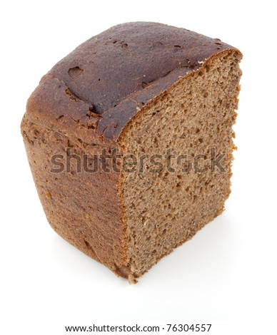 Straight rye bread (Russian staple food)