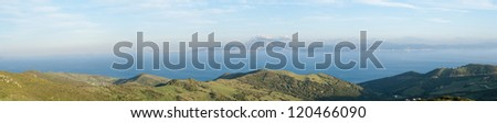 Strait of Gibraltar, Morocco background