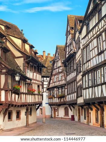 Strasbourg, La Petite France district, France