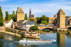 Strasbourg, Ponts couverts,