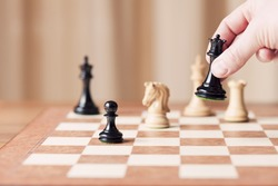 strategic moves, chess game