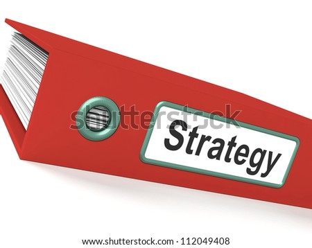 Strategy File Show Leadership And Planning