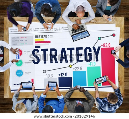 Strategy Planning Plan Process Directing Growth Concept