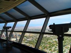 Stratosphere Las Vegas telephoto camera binocular