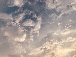 stratus cumulus cloud in the daytime beautiful in Thailand.no focus