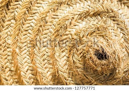 straw circle - nice background pattern