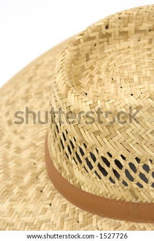 straw hat - summer equipment