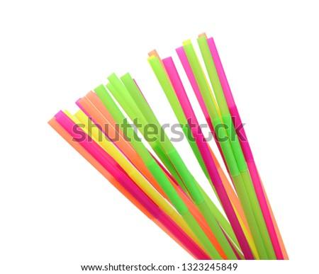 Straw plastic straw drink straw - Image  #1323245849