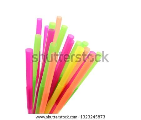 Straw plastic straw drink straw - Image  #1323245873