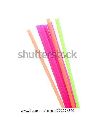 Straw plastic straw drink straw - Image  #1323796520