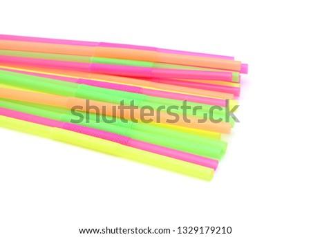 Straw plastic straw drink straw - Image  #1329179210