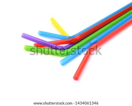 Straw plastic straw drink straw - Image  #1434061346