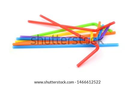 Straw plastic straw drink straw - Image  #1466612522
