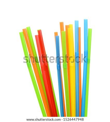 Straw plastic straw drink straw - Image  #1526447948
