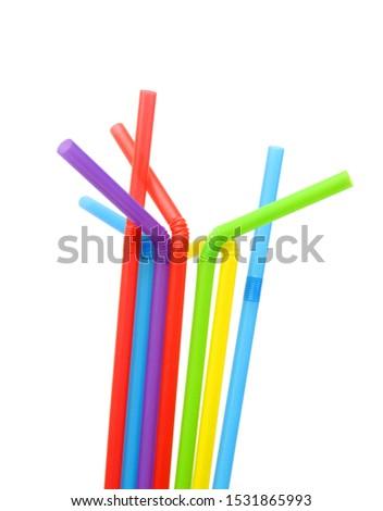 Straw plastic straw drink straw - Image  #1531865993