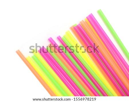 Straw plastic straw drink straw - Image  #1556978219