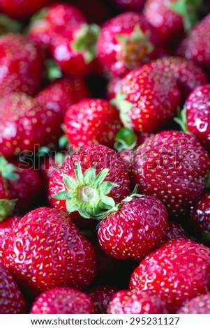 strawberries background #295231127