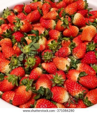 strawberry - Shutterstock ID 371086280