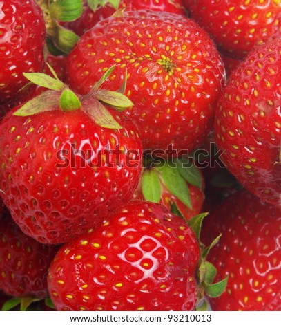 strawberry closeup as a background