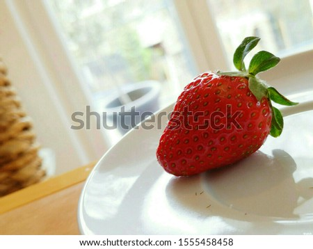 Strawberry is a fruit that belongs to the type of berries, but from the type of berries it is its prima
