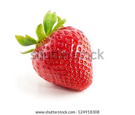 Strawberry isolated on white background #524918308