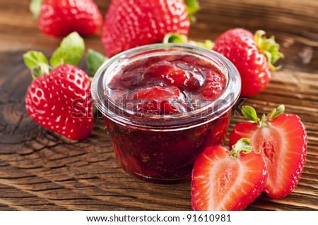 Strawberry jelly Stock photo ©