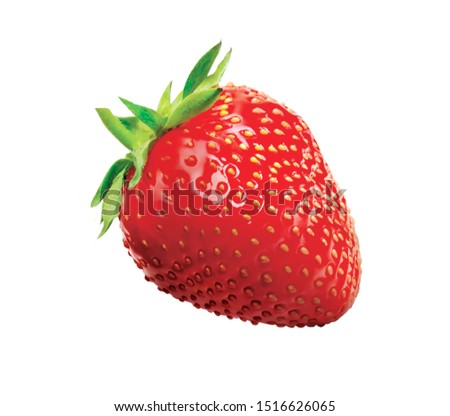 Strawbery Organic fruit Fresh nature