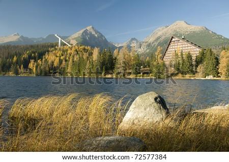 Strbske pleso lake, Hight Tatras, Slovakia