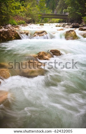 Stream in European Alps