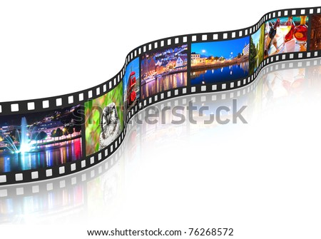 Streaming media concept - stock photo