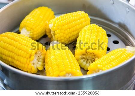 Streaming sweet corns #255920056