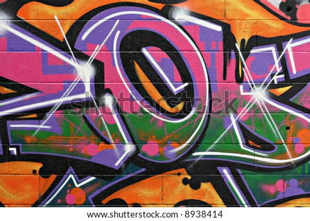 Street Art - stock photo