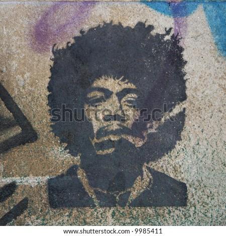 Street Art - stencil