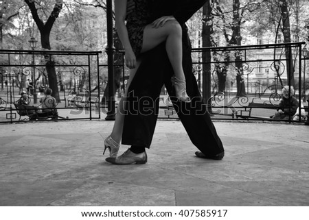 Street dance. Tango.