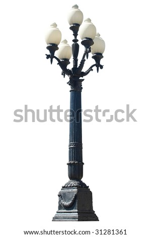 Street lamp.No.9 - stock photo