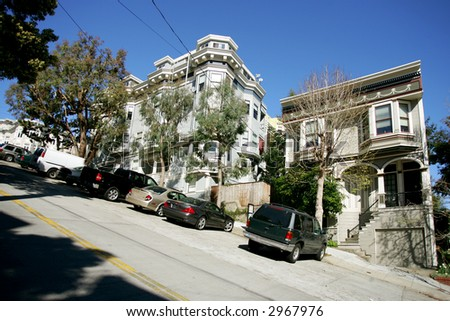 Street parking at Castro District, San Francisco