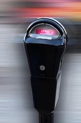 Street Parking Meter.