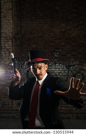 Street Performer Illusionist