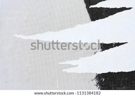 street poster rips Stock foto ©