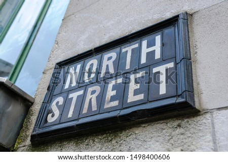 """Street sign for """"North Street"""""""