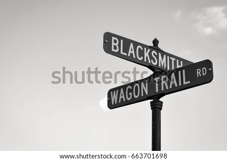 Street signs #663701698