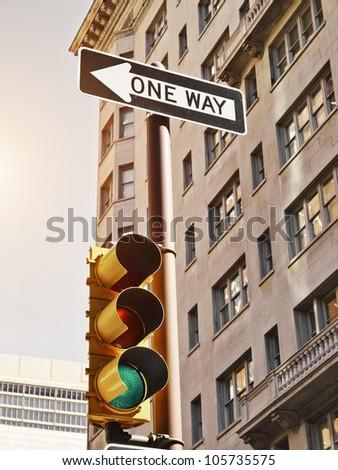 Street Signs in Philadelphia, USA
