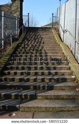 Street steps  #580551220